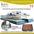 1500 alta qualidade cortandoimprensa máquina de papelão ondulado( com stripping)