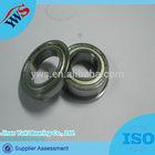 F606 6*17*6 flange deep groove ball bearing size price list