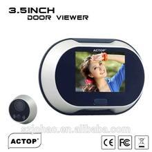 Digital Door Eye Viewer 3.5 inch, Luxury, Clear image&Wide angle, Easy change battery, Digital Door Viewer