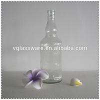 Glass lined water bottle glass bottles ceramic swing cap