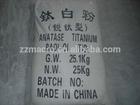 Pigment tio2 titanium dioxide rutile hs code: 3206111000 for hot - exporting