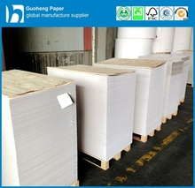 China Paper Mill of White Clay Coated Grey Back Cardboard in Sheets