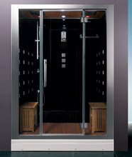 6KW JETTED STEAM SAUNA SHOWER CABIN FOR 2 PEOPLE
