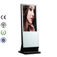 "55"" Interactive Wifi Network Advertising LCD Monitor"