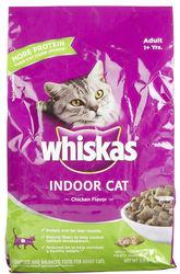 WHISKAS DRY CAT INDOOR 3 LB Pet Food