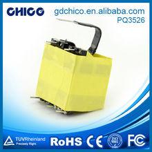 PQ3535 high saturation current power line 220v 24v power transformer