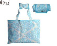 2014 high quality flag pattern printing promotion Sell Nonwoven Foldable Bag With Easy Handles