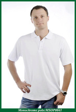 promotional advertising polo, short sleeve blank polo t-shirt
