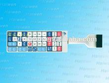 6 Keys Matrix Membrane Switch Control Keypad Keyboard Super Slim with LED
