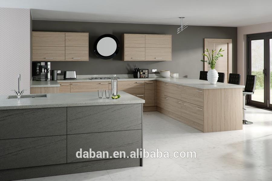 Keuken Kasten Melamine : nieuwe ontwerp mdf laminaat keuken kast in ...