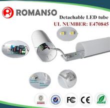 ul dlc listed led tube t8 45cm sensor led tube u shaped t8 led tube light bulb
