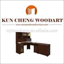 Dark Wooden Antique Desk/Men's Parlor Exclusive Desk Neo-Renaissance Wooden Exclusive desk