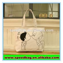 Oem production canvas tote bag standard size cotton tote bag custom tote bag