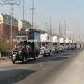 Caravana de recogida caravana de camiones, fabricante de china con 32- año de experiencia