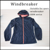 Outdoor sports windbreaker custom wholesale windbreakers