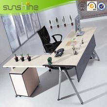 High End Modern Style Metal Frame Executive Office Desk