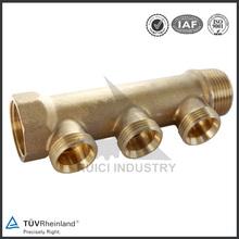 forging brass underfloor heating manifold flow meter