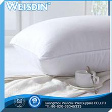 plain manufacter 100% polyester gel visco-elastic folding neck pillow