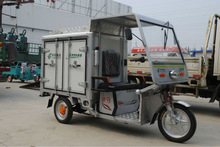 Strong style tricycle with roof