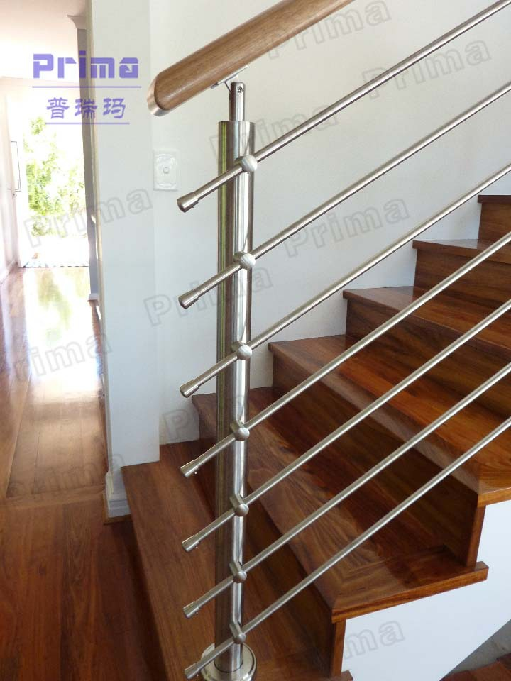 popular stairs railing / stainless steel rod railing for balcony, View ...