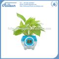 Florero de plástico con reloj fs-2614