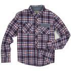 small checked mens custom flannel shirt