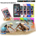 High quality Dive 6M deep waterproof case For iPhone 6 plug cover