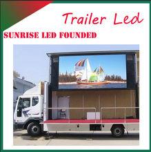 China express Pantalla de LED a todo color gigante de alta calidad en camion para anuncios moviles