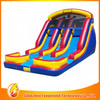 low price inflatable spiral water slide for kids