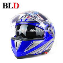 New ABS flip up welding helmet,motorcycle helmet flip up,flip up helmet,motor cross helmet, cross helmet double visor BLD-158