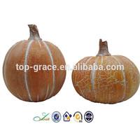 Resin harvest artificial craft pumpkins