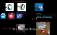 12V.DC luminous small bathtub light wst-1323-01/02/03/04