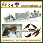 Custombuilt puffed floating fish food pellets make plant, fish feed processing machine dog cat fish food processing line