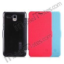 for Lenovo A808T Flip Leather Case, Nillkin Wallet Case Phone Cover for Lenovo