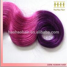 hot sell hair products pink weave hair,100% human brazilian virgin pink human hair weave