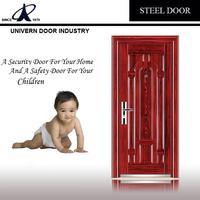 Cheap Price Fire Rated Steel Security Door,House Front Door Design,Paint Colors Small Exterior Door