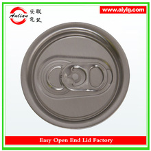 China Alibaba Customize Newest Style Aluminum Juice Easy Open Can Cap