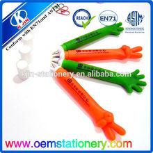 office supply rubber grip promotional ball pens/ballpoint pen wholesale