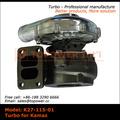 Turbo Teil turbo Ladegerät/kamaz turbo garrett