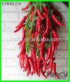 10 cabeças decorativos chili peppers grosso para decoração