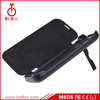 3200mah battery charger case for Samsung Galaxy S4 with Flip Cover