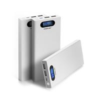 smart display power bank 12000 mah cell phone dual USB portable charger