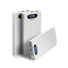 smart display power bank 12000 mah cell phone dual USB portable charger
