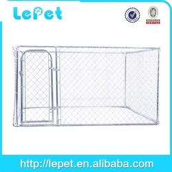 large chain link rolling black folding metal dog fence