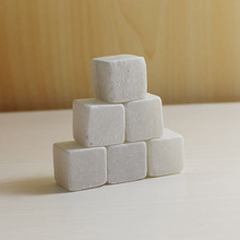2014 newly Promotional white Most fashion dice ice cube whisky stone in party