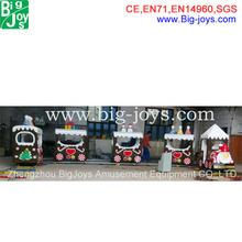 amusement park christmas train 2014,electric track train for sale,christmas theme train for children