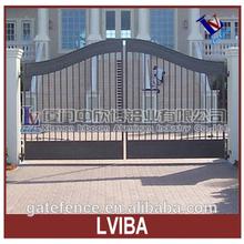 custom villas gate metal gates with powder coated