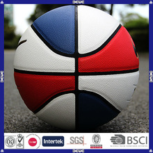 Popular design promotional good quality customized your own rubber basketball