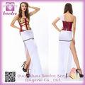 2014 mais elegante de alta qualidade sexy deluxe deusa grega fantasias hallloween vestuário para mulheres