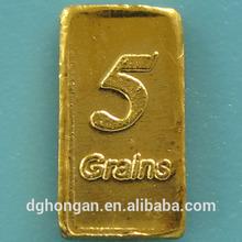A1 .999 Fine 5 Grains Gold Bar